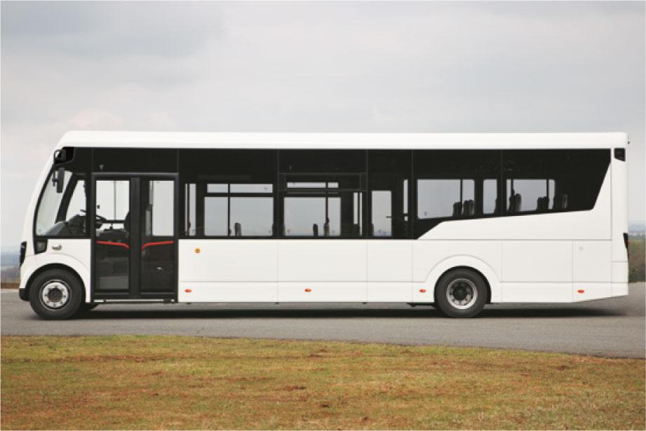 StreetLite low floor seating bus