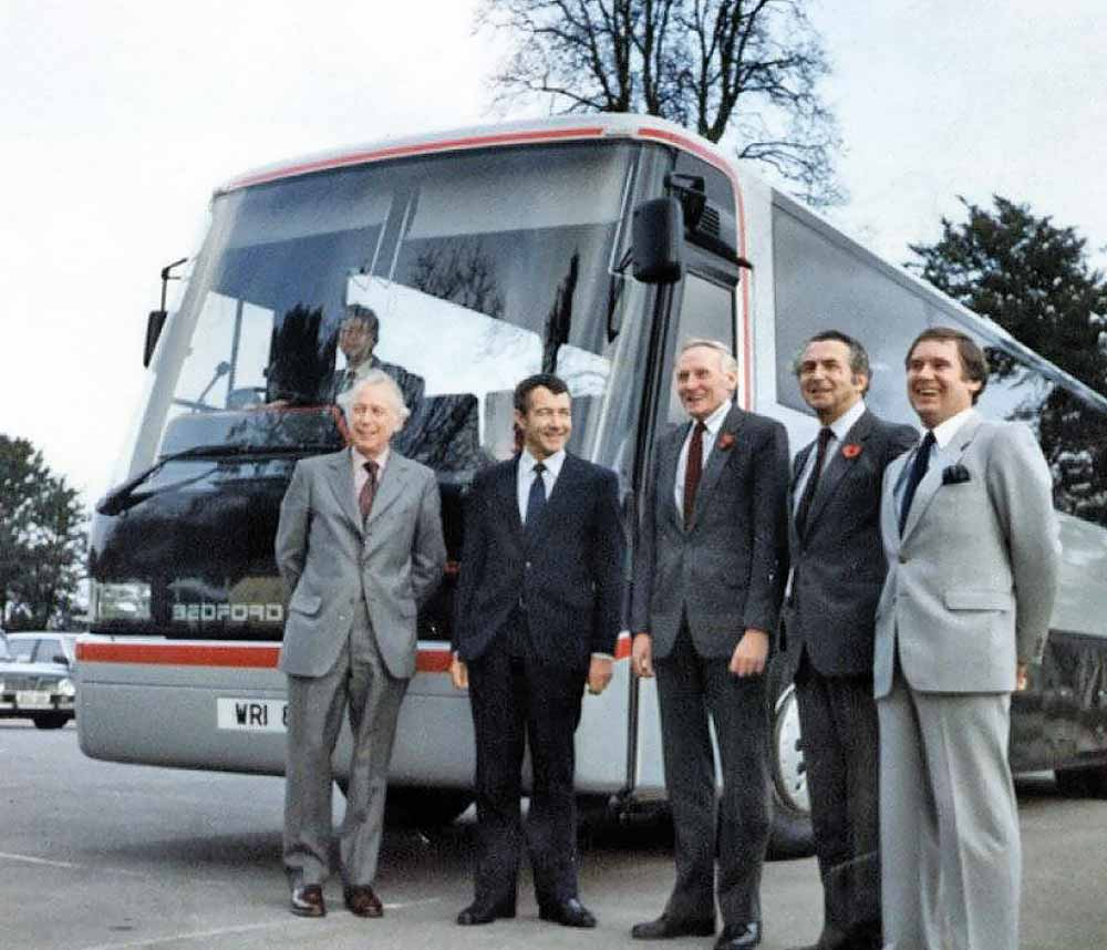 Wrightbus entered the luxury coach market with the Contour