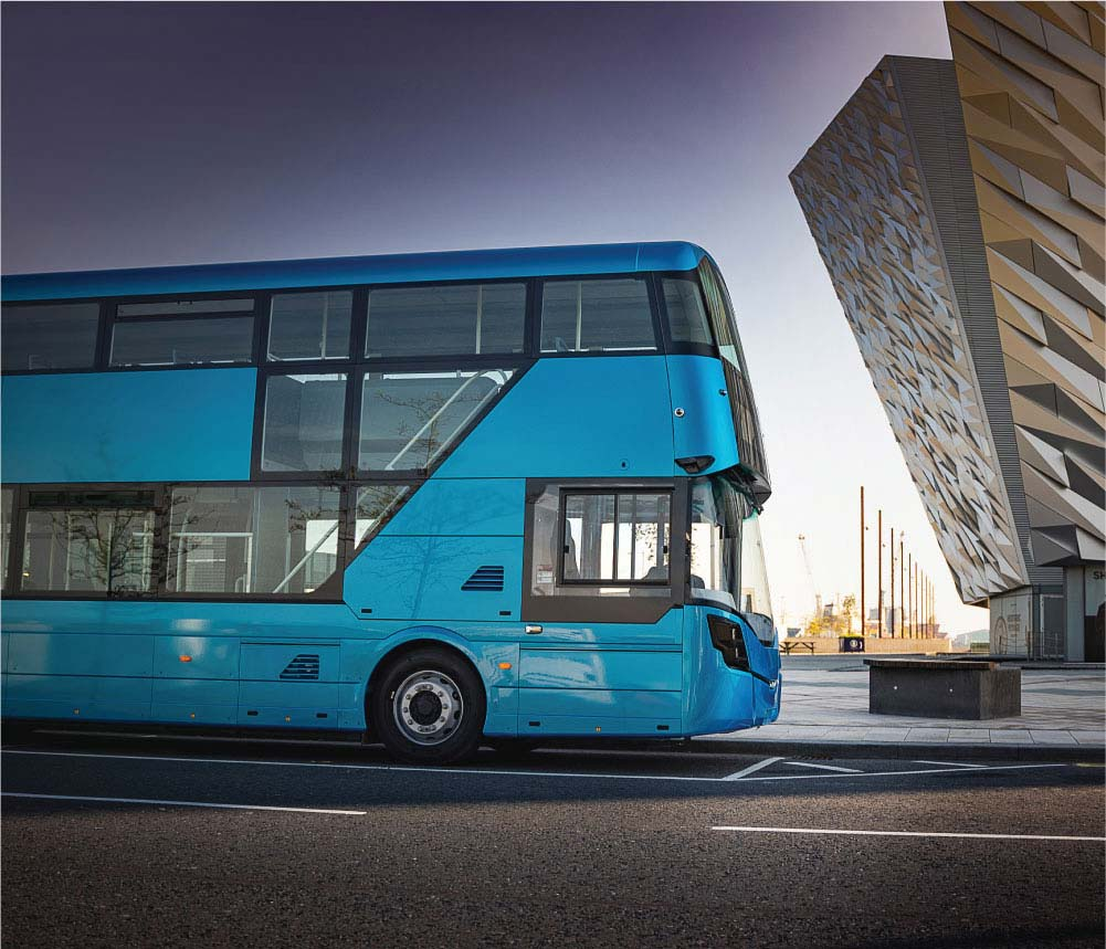The 1000th Gemini bus built for Arriva London 2004