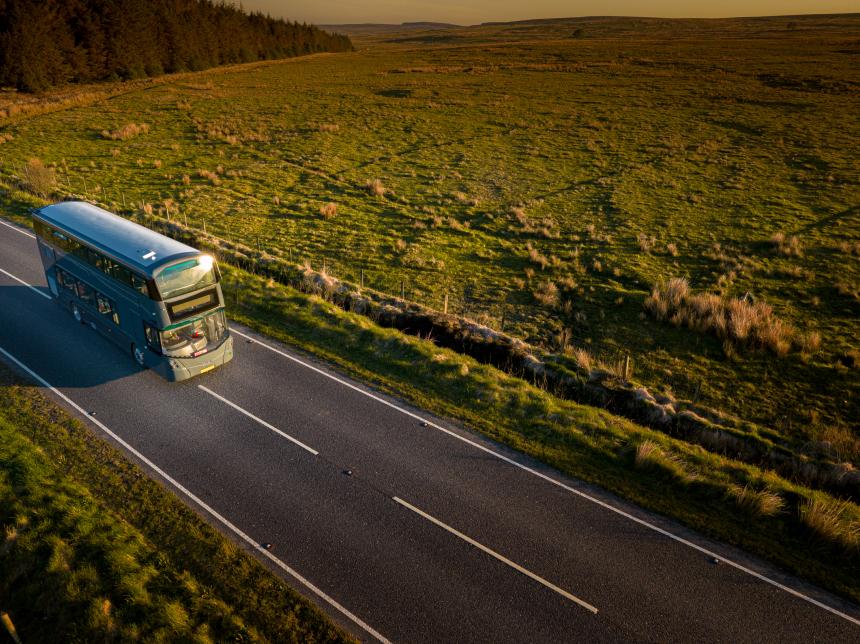 Wrightbus Hydrogen Bus Fleet Hits 100,000 Miles Milestone