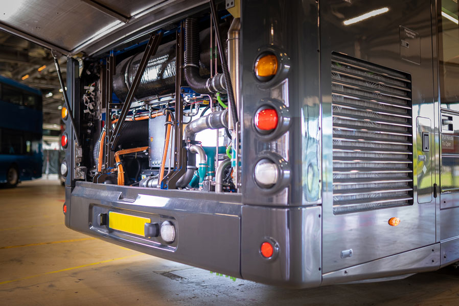 WrightBus Parts and services support to serve your fleet