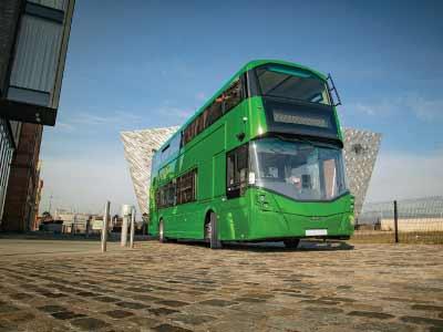 Streetdeck Hydroliner - The hydrogen bus from Wrightbus