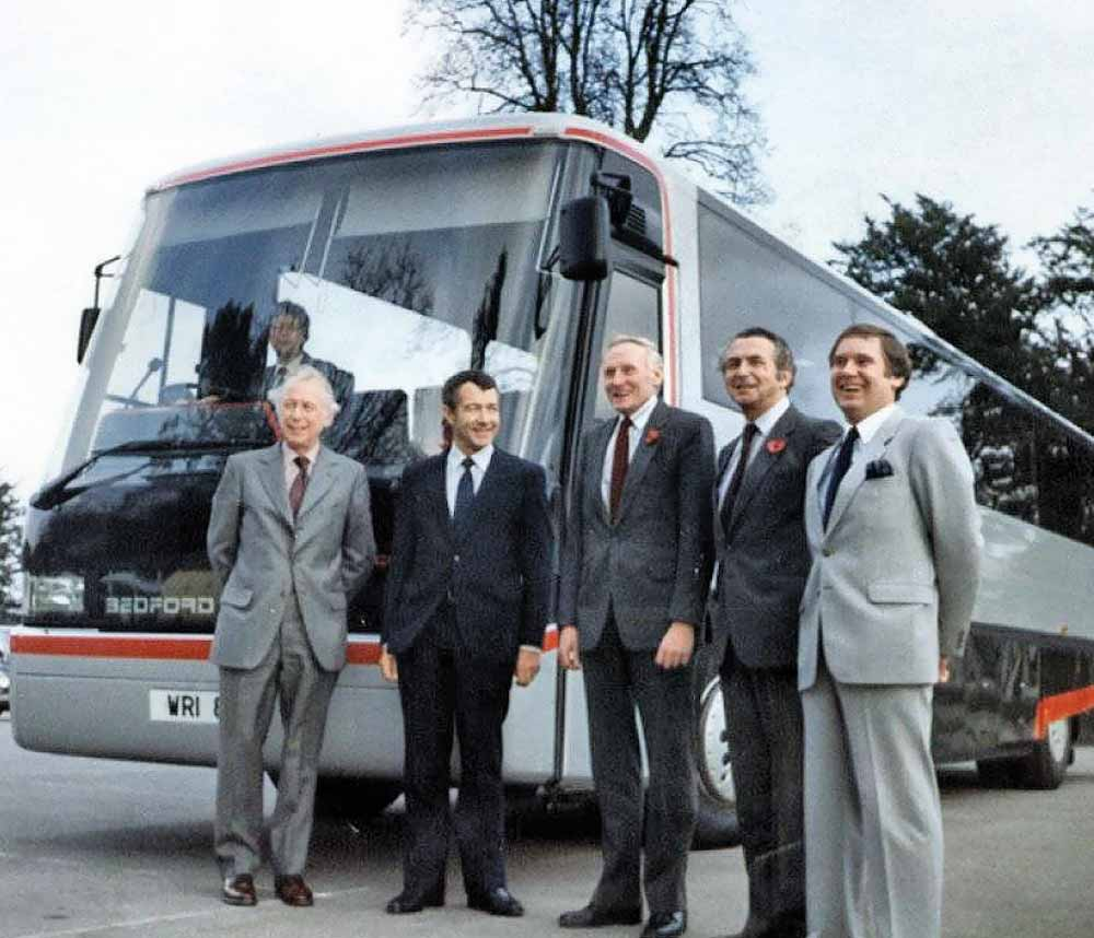 Robert Wright & Son Coachbuilders was the original name of Wrightbus